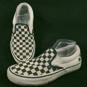 Vans Shoes - Vans Checkerboard Slip-on Shoe Men's 7.5 EG64